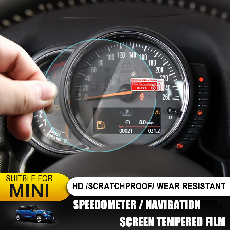Car Tachometer Speedometer GPS Display Screen Tempered Protective Film Protector For Mini Cooper F54 F55 F56 F57 F60 Countryman