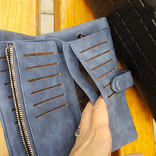 Soft Leather Long Wallets