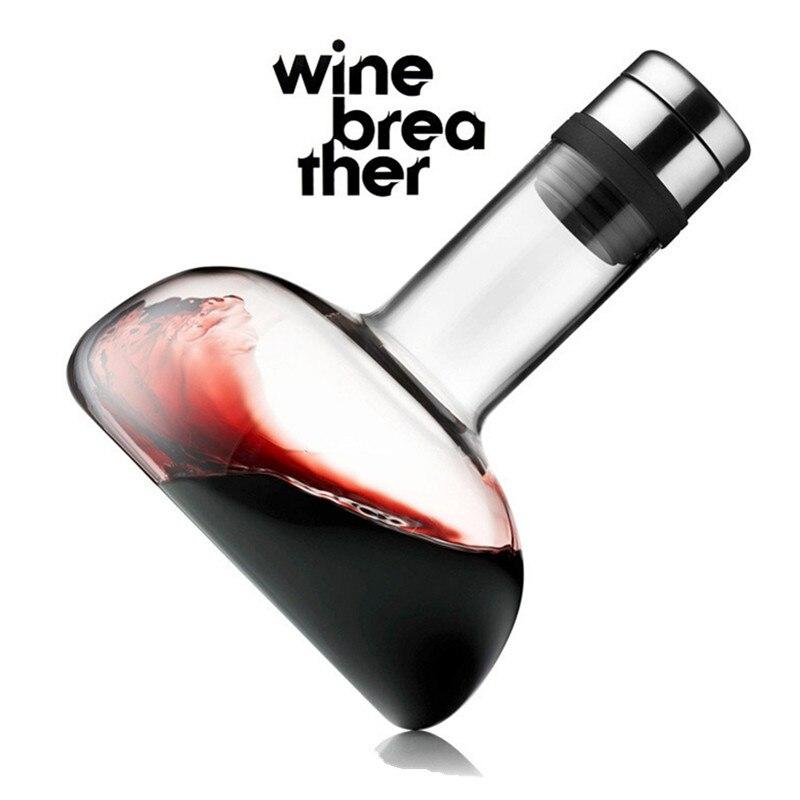 Carafe à vin verre vin accessoires creative bar outils bouteille 35