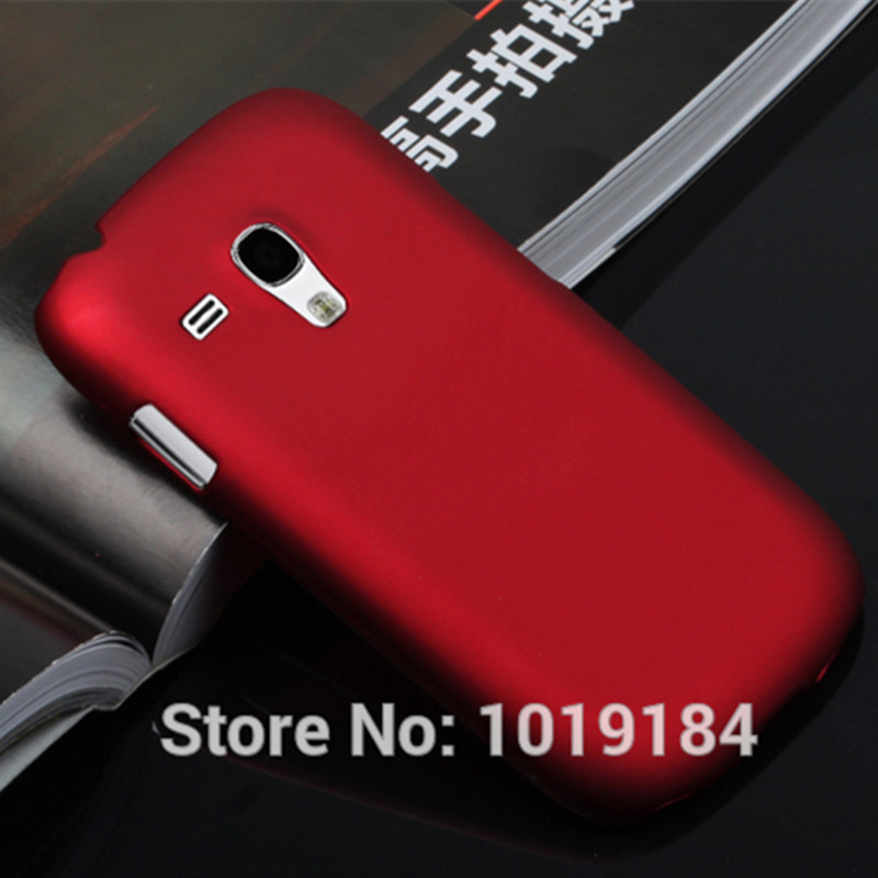 S3 Mini Rubber Matte Hard Case Back Cover For Samsung Galaxy S3 mini i8190 I8190N S III Mini Free Stylus Pen