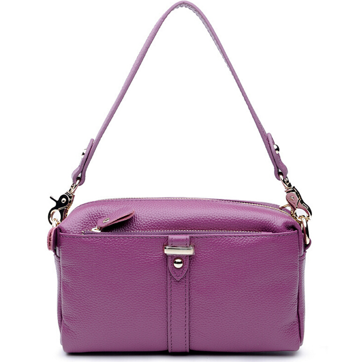 HOT SELLING New 100% Real Natural Genuine Leather Cross-body Messenger Bag Female Shoulder Bags casual bag
