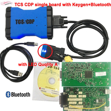 TCS CDP одной плате с кейгена + Bluetooth со светодиодной quqlity для автомобиля грузовик Лучшая цена Многоязычная 3in1 tcs-CDP Бесплатная доставка