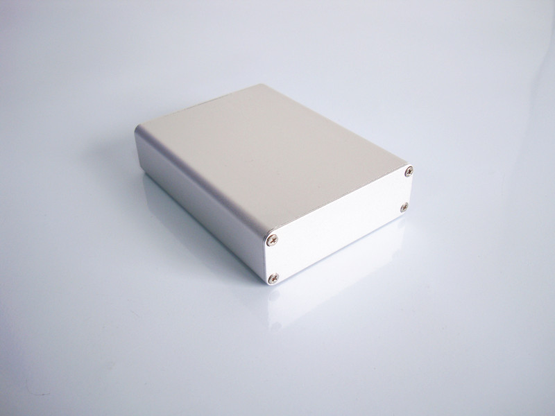 Instrument shell industrial aluminium box Project enclosure DIY 84*28*110mm NEW circuit board case 1 piece free shipping aluminium enclosure case aluminium extruded enclosure in silver color smooth surface silver color box