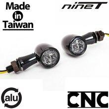 Черный алюминиевый водонепроницаемый Светодиодный светильник указателя поворота 12V2. 7 Вт для BMW R nineT RnineT R9T Roadster Classic Scrambler Pure