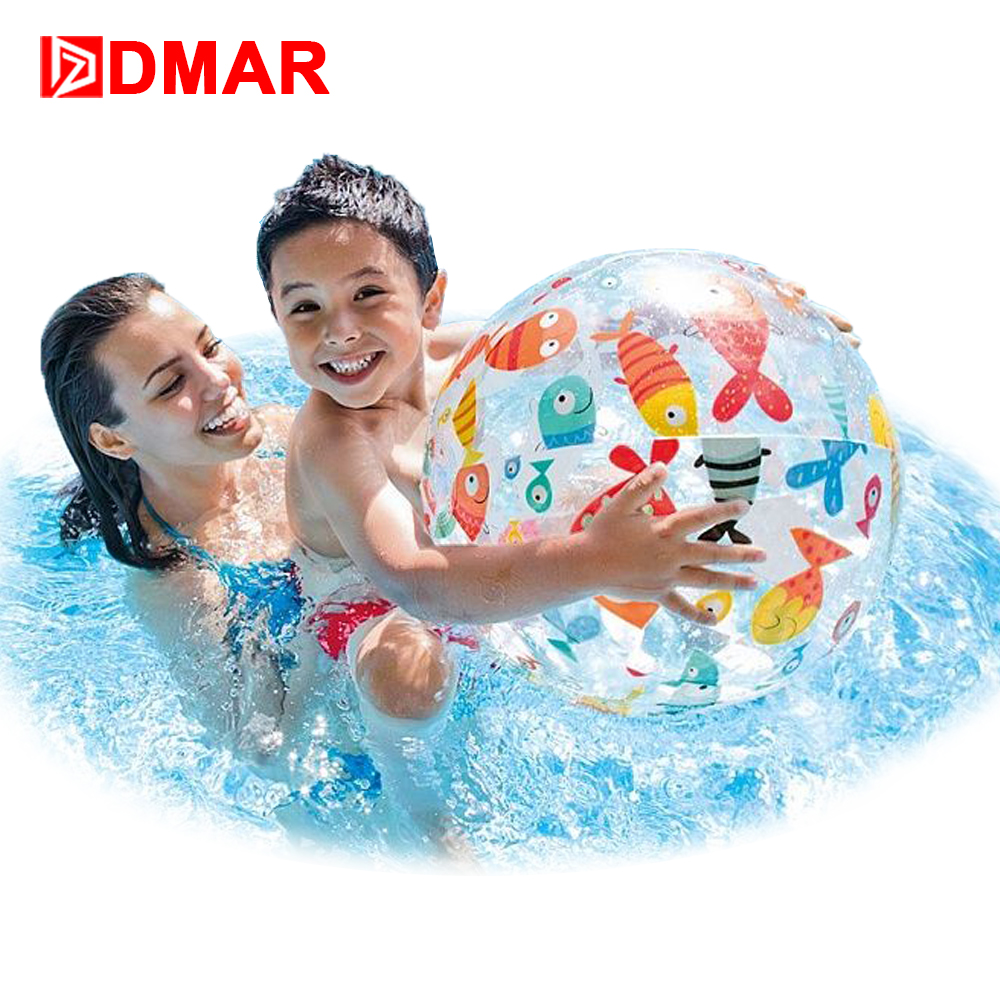 Inflatable Beach Ball Children Water Toy Beach Toy Swimming Pool Accessory Handball Pool Float Swimming Ring Party