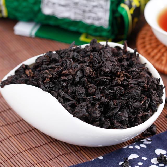 Green Food Lose Weight Whitening Slimming Beauty Organic Black Oolong Tieguanyin Tea Roasted Tea Milk Black Oolong Tea