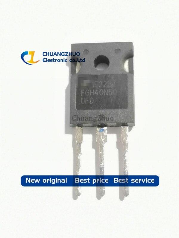 10PCS FGH40N60UFD FGH40N60 40N60 TO247 IGBT Tube For Welding New Original