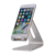 Ni5l tablet stand titular silicone alumínio desktop titular tablet suporte para ipad/para o iphone para samsung s7 s6 s5