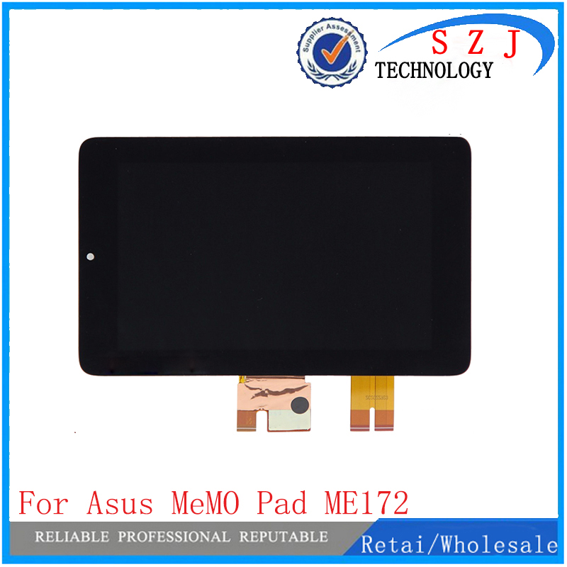 New 7 inch For ASUS Memo Pad Tablet ME172V ME172 K0W Touch Screen digitizer with LCD display Free Shipping 7 inch for asus me173x me173 lcd display touch screen with digitizer assembly complete free shipping