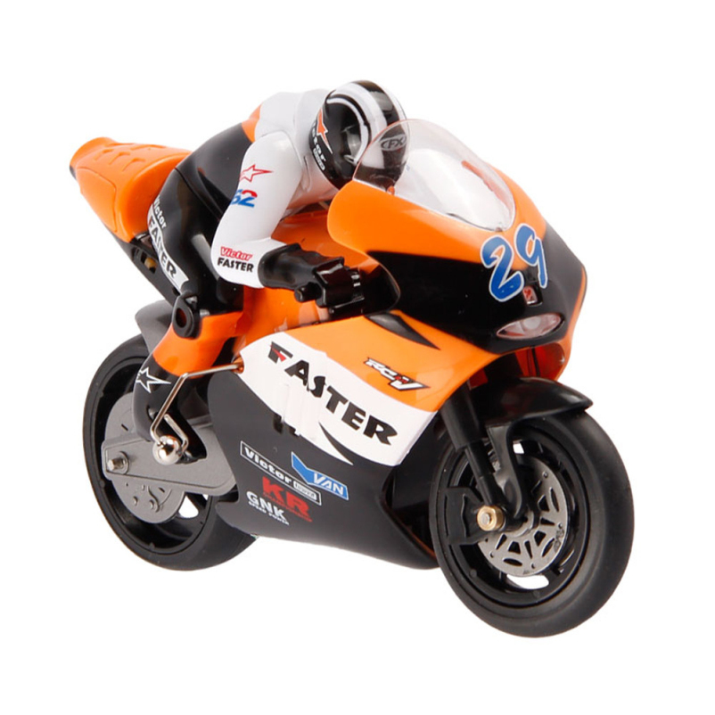 Hot Selling RC Motocycle 1/16 Scale 4CH 2.4G Stunt Drift Moto Radio Electric Gif