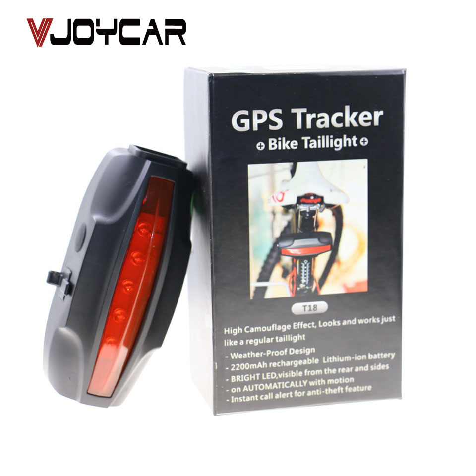 VJOYCAR font b GPS b font Tracker Bicycle Long Battery Life 30 Days Anti Bike Theft