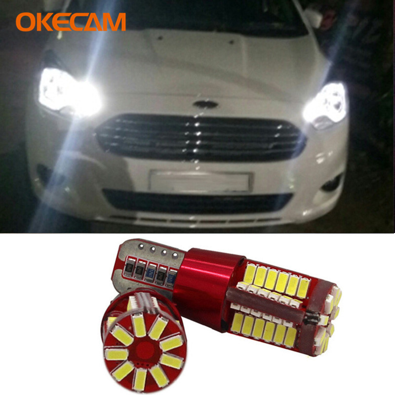 Canbus T10 Car LED Parking Clearance Light For <font><b>Ford</b></font> Focus 2 3 1 Fiesta Ranger Mondeo <font><b>Mustang</b></font> Fusion Kuga Transit Ecosport S max image