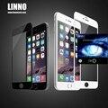 Для iphone 6/6 s plus Полный экран крышка Анти-Уф-лучей, синий свет вырезать LINNO Закаленное стекло Защитная Пленка для Экрана Apple Iphone 6 plus