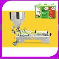 Lebensmittel füll maschine halbautomatische druck edelstahl paste abgabe flüssigkeit verpackung ausrüstung verkauft creme maschine 10 ~ 100 ml-in Eismaschinen aus Haushaltsgeräte bei