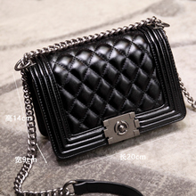 Luxury Classical Women Bag Brand Fashion Pu Leather Handbag Diamond Lattice Lady Shoulder Crossbody Bags High Quality