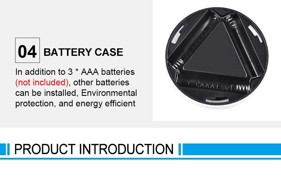 LED Novelty Lighting Wall Light Night Lights COB LED Stick Sticker Tap Touch Cabinet Wardrobe Corridor 3x AAA Batteries (8)