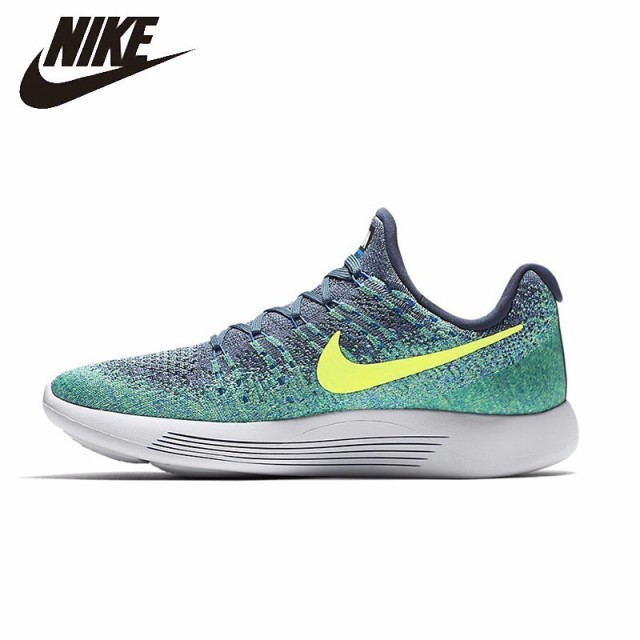 NIKE Original New Arrival LunarEpic Flyknit 2017 Running Shoes Mesh  Breathable Footwear Light Comfortable For Men