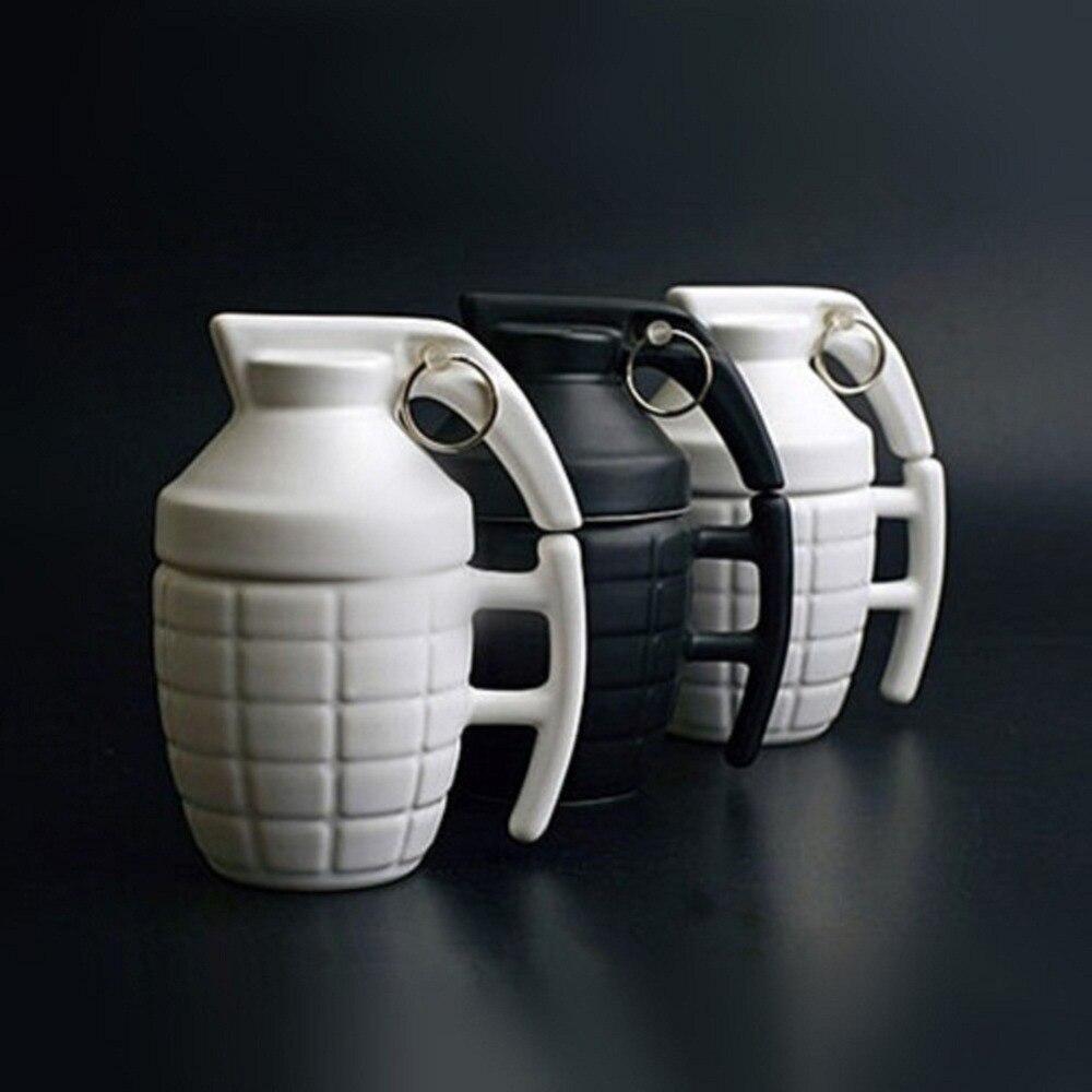 <font><b>Creative</b></font> Army Boom <font><b>Grenade</b></font> Drinkware <font><b>Mugs</b></font> <font><b>Ceramic</b></font> Water Coffee Tea Military <font><b>Mug</b></font> <font><b>Cup</b></font> <font><b>with</b></font> <font><b>Cover</b></font> Lid <font><b>Cups</b></font> Office Gifts Personality