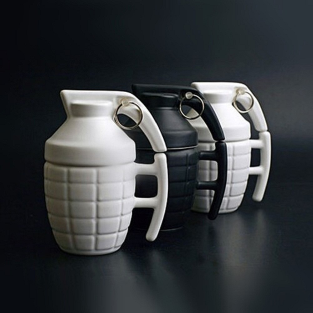 military coffee mugs reviews online shopping military coffee creative army boom grenade drinkware mugs ceramic water coffee tea military mug cup cover lid cups office gifts personality
