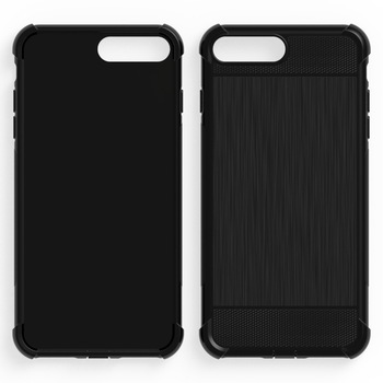 100pcs/lot.Shockproof Anti-skid TPU Gel Skin soft Case Cover For iPhone 7/iPhone 7 plus/iPhone 8/iPhone 8 plus