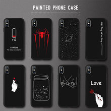 Animal Love Heart Soft TPU Silicone Cases for iPhone 5 S SE X Phone Case For iPhone 6s 6 7 8 Plus XS Max XR 11 pro Coque Fundas(China)