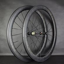 Новинка 2020, колеса Novatecs AS61cb/FS62cb, карбоновые втулки прямой углерод тяги Marble Racing 38/50/60 мм, трубчатые/клинчерные/бескамерные