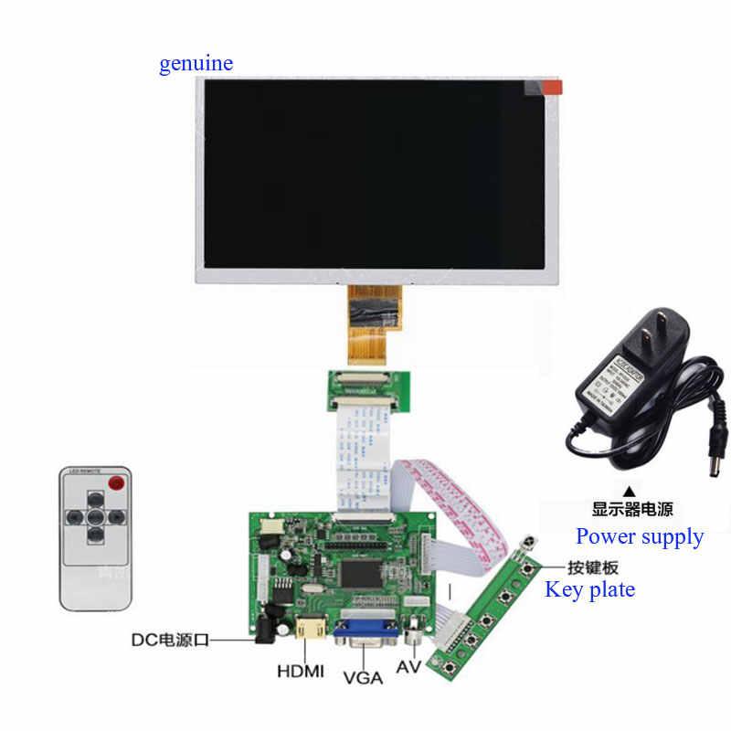 Montaje de módulo de pantalla 1024X600 de 7 pulgadas, placa de desarrollo anidada, controlador HDMI, pantalla LCD