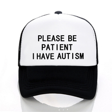 Men Women hat Please Be Patient I Have Autism Letter Printed Baseball c