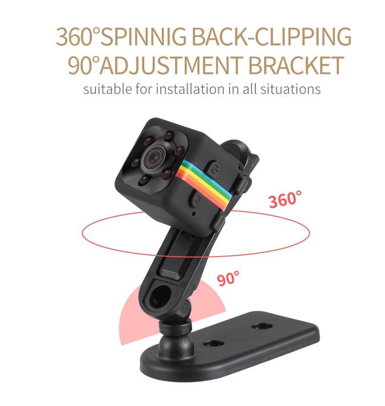 SQ11 HD Camera 1080P Night Vision Camcorder Camera 12MP video Camera DVR DV Motion Recorder Camcorder 13