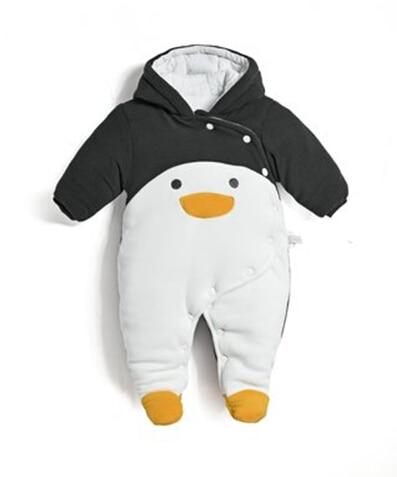 59f01df35 2017 autumn winter baby Clothes newborn jumpsuit infant cotton thick ...