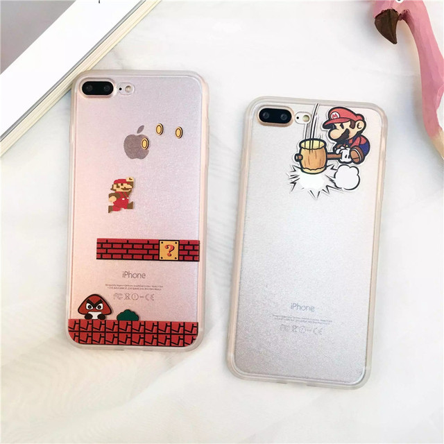 Super Mario Clear iPhone Case Cover (4 Styles)