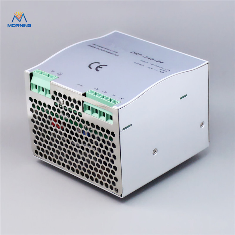 все цены на DR-240-24 dc din rail switching power supply  240W 24V Cooling Aluminum shell converter