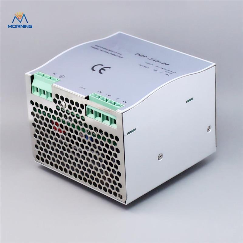 цены на DR-240-24 dc din rail switching power supply  240W 24V Cooling Aluminum shell converter в интернет-магазинах
