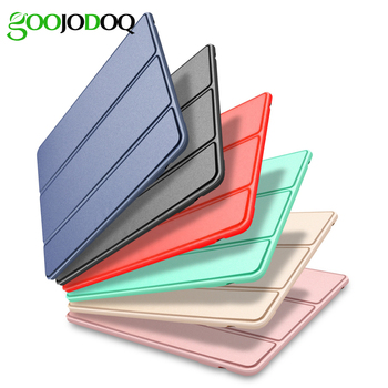Case For iPad Air 3 10.5 2019 Case, GOOJODOQ Smart Cover Trifold Stand Soft Back Case for iPad Air 3rd Generation 10.5'' 2019