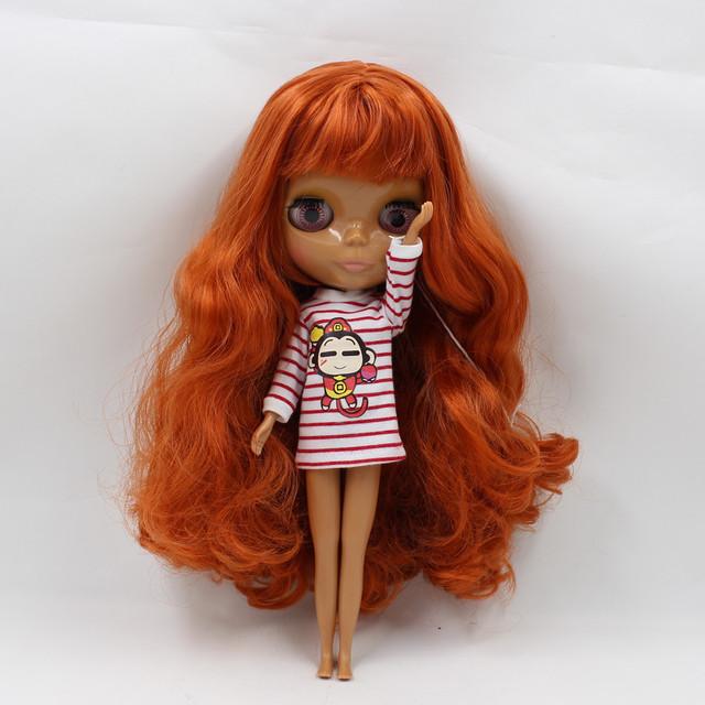 ICY Neo Blythe Doll Brown Orange Hair Regular Body