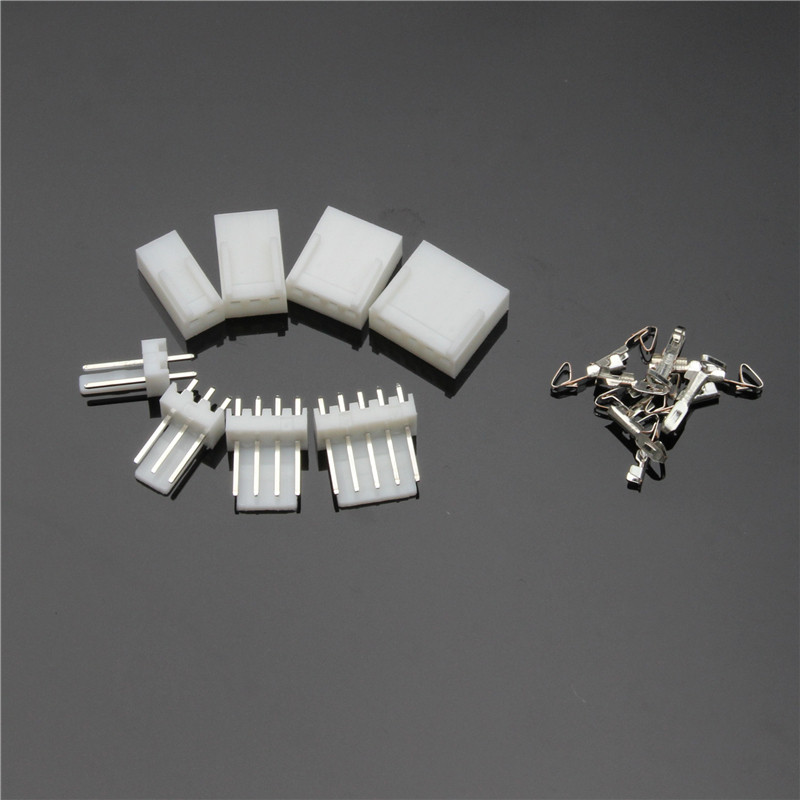 YT 150PCS JST-XH 2.54mm White Male Female Terminal Housing Connectors Pin Header Connector Plug 2/3/4/5P With Box Adaptor Kits 1000pcs dupont jumper wire cable housing female pin contor terminal 2 54mm new