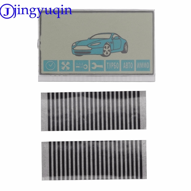 jingyuqin New Arrival Russia Version A91 Lcd Display Flexible Cable For Starline A91 Remote Controller A91 Lcd Zebra Stripes