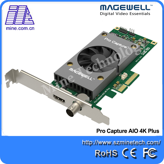 Magewell HDMI Pci e Live Streaming Video Capture Card HS102 4K Plus