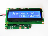 Yüksek hassasiyetli frekans metre yüksek frekanslı 10 MHz-2.4 GHz/düşük frekans 0-50 MHz