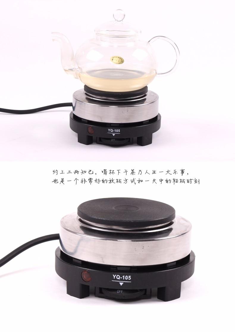 Sobë e re 220V 500W MINI Pllaka të nxehta elektrike - Kuzhinë, ngrënie dhe bar - Foto 4