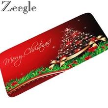 Zeegle عيد الميلاد السجاد البساط سجادة باب ترحيب لينة مدخل ممسحة غرفة نوم الاطفال السجاد السرير البساط ديكور المنزل الحمام حصيرة