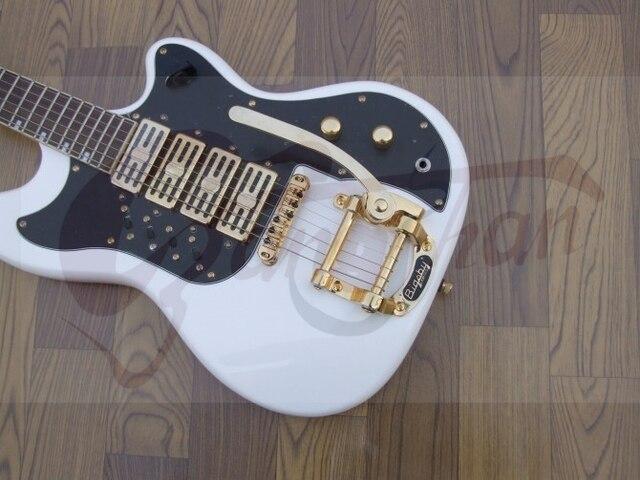 Direkt fabrik top qualität drei mini pickup e gitarre gute hardwares ...