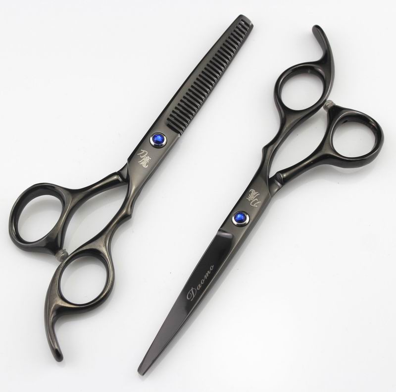 2Pcsset Professional 60 inch Hairdressing Shear Cutting Barber Scissors  Haircut Thinning