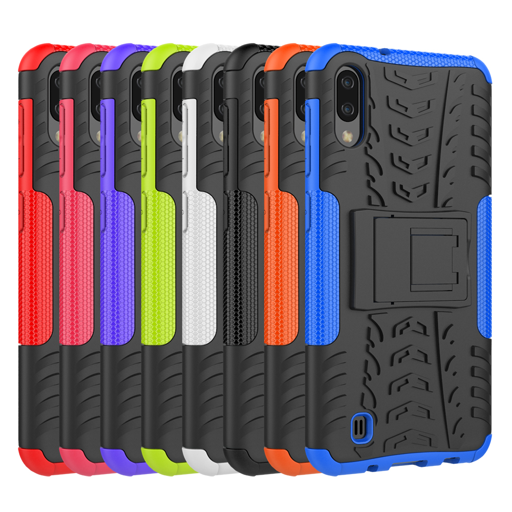 260pcs lot Anti Shock Tyre Removable Rugged Armor Hard Case For Samsung Galaxy A30