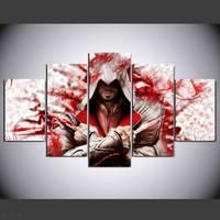 Hd Stampato Pittura Assassin 'S Creed Sala Pittura Decorazione Poster Tela 5 Pz/91537/1045 drop