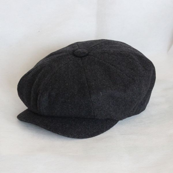 9850d4c96 Free shipping beret Cloth octagonal cap painter cap newsboy cap khaki black  men's and women's magazines of the four seasons hat-in Baseball Caps from  ...