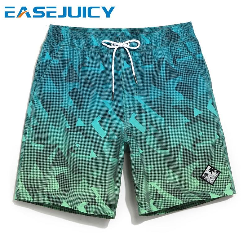 Board shorts couple's navy beach shorts bathing suit swimsuit joggers plavky swimwear sexy  surfboard loose trunks mesh