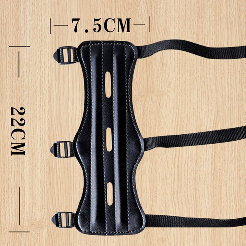 1PC PU Leather Archery Arm Guard Strap Target Outdoor Hunting Supplies Safety Protection Gear B2Cshop