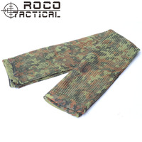 MIL TEC Tactical Camo Pattern Military Netting Scarf Army Style Scrim Net Patrol Head Wraps With