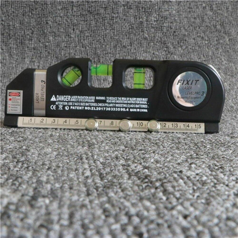 Werkzeuge Mx-demel Laser Horizon Vertical Messen 8ft Aligner Standard & Metrische Herrscher Mehrzweck Maßnahme Instrument Level Laser Optische Instrumente
